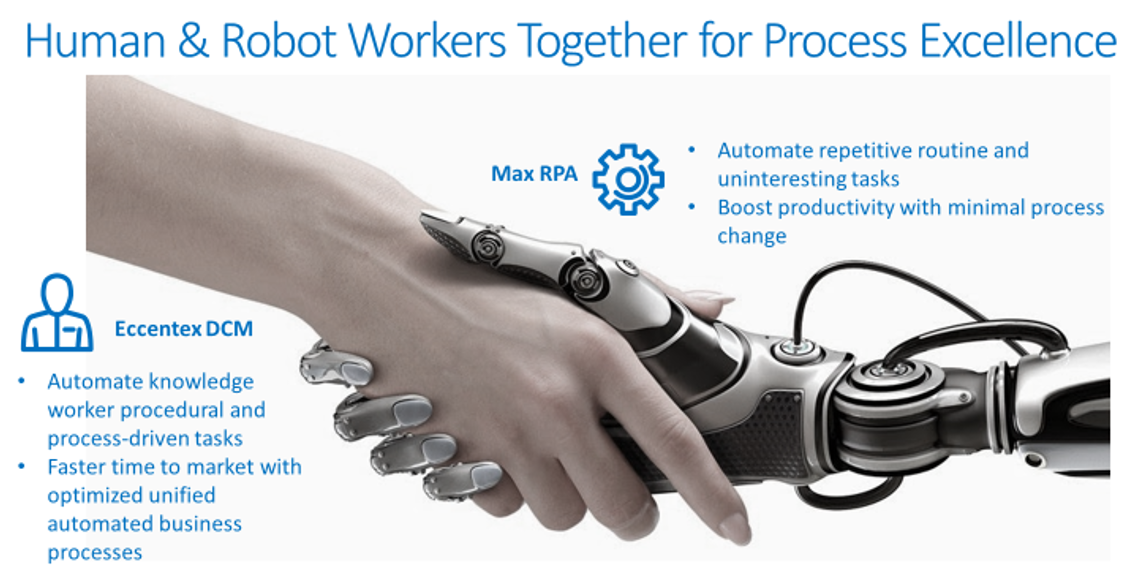 Human and Robot Workers Together for Process Excellence